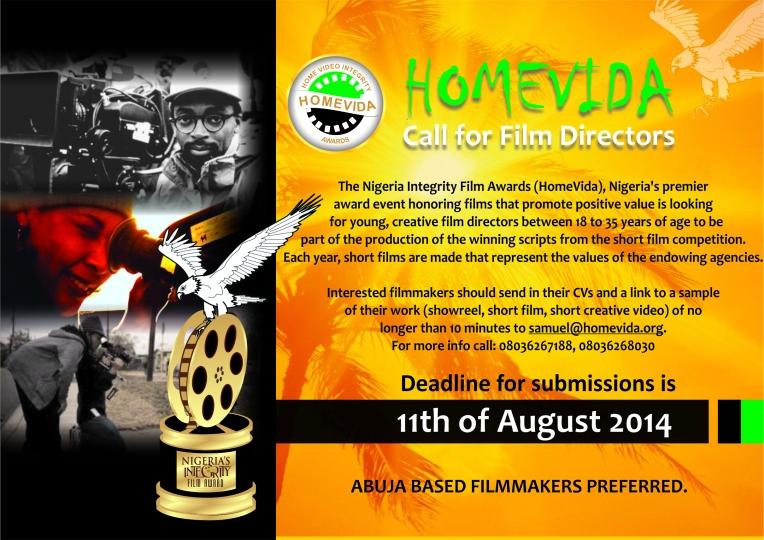 HomeVida Call For Directors 2O14